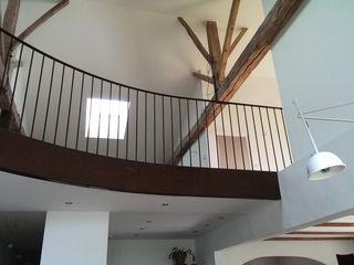 Jean-Paul Magy architecte d'intérieur Minimalist corridor, hallway & stairs
