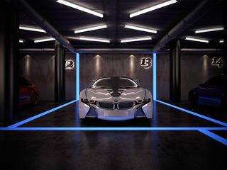 Ibu 3d Centros de exposiciones de estilo moderno