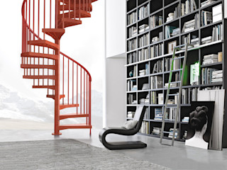 Techne Fontanot Corridor, hallway & stairsStairs
