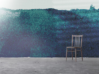 Refleksy Trufle Mozaiki Nowoczesne ściany i podłogi