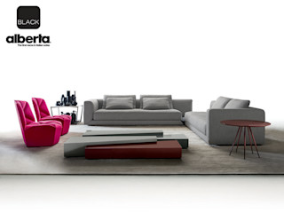 Black Collection Alberta Pacific Furniture Living room