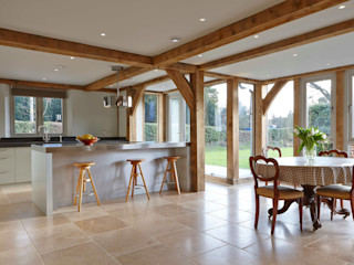 Stable Cottage, Liss Adam Coupe Photography Limited Country style dining room