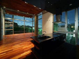 田中一郎建築事務所 Eclectic style living room