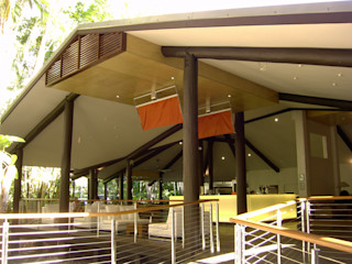The Solitaire Punkah Oliver Kessler Design GmbH Balconies, verandas & terraces Accessories & decoration