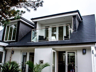 Projects, Extensions, Lofts Xspace Modern balcony, veranda & terrace