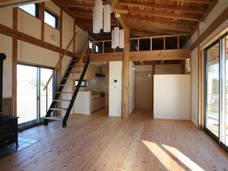 鴻巣の家 八島建築設計室 オリジナルデザインの リビング