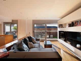 The Pont design 现代客厅設計點子、靈感 & 圖片