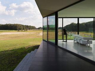 Bridge House 123DV Moderne Villa's Moderne balkons, veranda's en terrassen