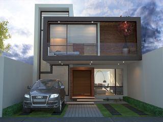 Xome Arquitectos Modern Evler