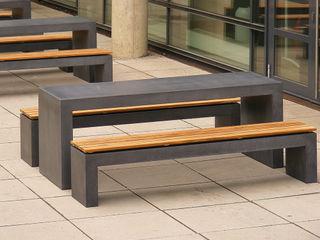 oggi-beton Balconies, verandas & terraces Furniture Concrete