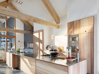 Kwint architecten Modern Kitchen