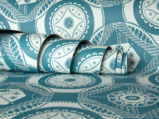 Hanbury wallpaper Kate Farley Walls & flooringWall & floor coverings