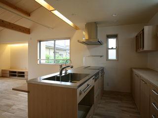 さいたまの家 ⅩⅡ 八島建築設計室 オリジナルデザインの キッチン