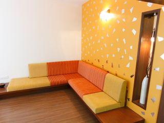 Apartment of Ashish Dalal Pandya & Co. Modern houses