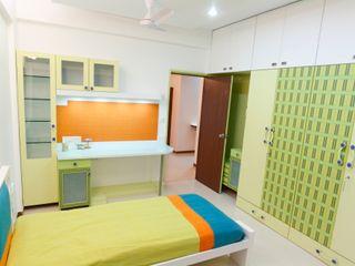 Apartment of Ashish Dalal Pandya & Co. Modern style bedroom