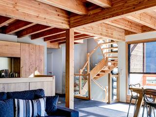 Maison bois contemporaine Grosset Janin