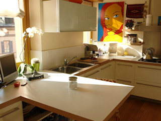 Studio di Architettura Manuela Zecca CocinaMesas y sillas
