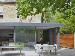 Ground floor rear & side extension in a Conservation Area, East Molesey, London VCDesign Architectural Services Modern conservatory
