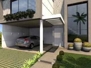 Konverto Interiores + Arquitetura Casas de estilo moderno