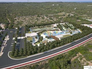 Water park in Menorca FG ARQUITECTES 모던스타일 수영장