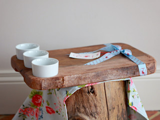 Harch Waney Edge Board with Dipping Pots Harch Wood Couture KitchenKitchen utensils