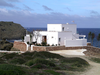 Single family house in Sa Mesquida FG ARQUITECTES 모던스타일 주택