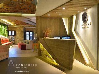 FANSTUDIO__Architecture & Design Rustic style house