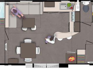 Mobil-home o'hara 980 Tendance Mobil-home