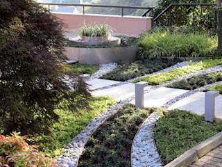 HANDE KOKSAL INTERIORS Modern garden