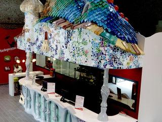 Casa Batllo para Telepizza Overstone ArteObjetos artísticos