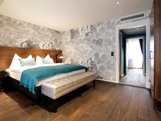 Hotel City, Zurich Studio Frey Camera da letto moderna