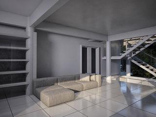 CASA POTIRA FCM Arquitetura Paredes e pisos modernos