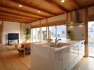 三宅和彦/ミヤケ設計事務所 Asian style kitchen