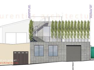 dE LAURENTIIS Architectures, le fil rouge d'un projet ! Modern Evler