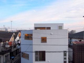 House in Heiwadai アトリエ スピノザ Modern houses