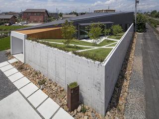 Secret Garden bandesign Modern Houses