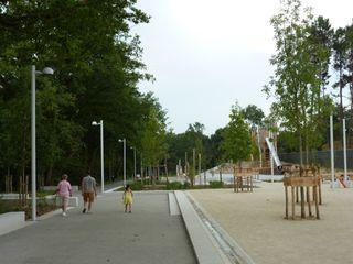 Parc de la Savèze à Saint-Herblain AGENCE L'ANTON & ASSOCIÉS