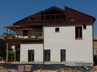 Grupo De4 - Green Project Rustic style house