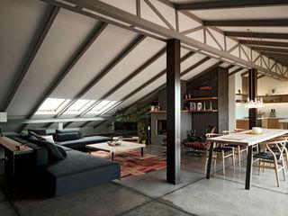 Loft Conversion In Nisantasi FLAT C/ ARCHITECTURE Modern houses