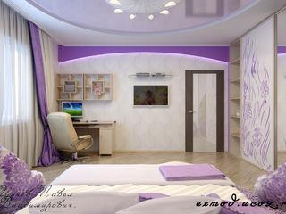 Цунёв_Дизайн. Студия интерьерных решений. Dormitorios infantiles modernos