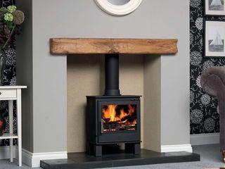 ACR Malvern DEFRA Approved Wood Burning / Multi Fuel Stove Direct Stoves Salas/RecibidoresChimeneas y accesorios
