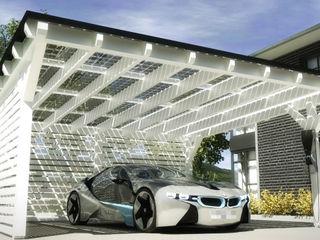 Solar-Glas-Carport Solarterrassen & Carportwerk GmbH Garage/Schuppen