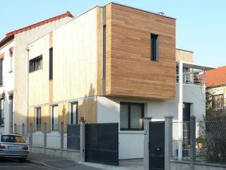 HOUSE - near PARIS Agence d'architecture Odile Veillon / ARCHI-V.O Modern Houses