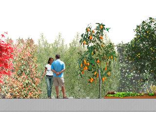 Jardin privado en Buenos Aires, Argentina Paisajismo Digital Jardines de estilo clásico