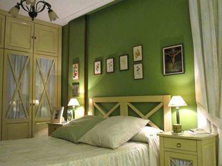 CarlosSobrinoArquitecto Eclectic style bedroom