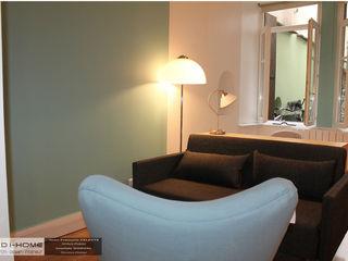 Agence ADI-HOME Ruang Studi/Kantor Gaya Eklektik