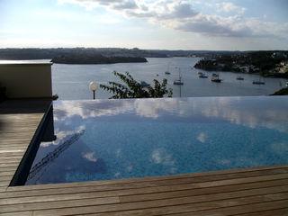 Single family house in Cala Llonga FG ARQUITECTES Modern Pool