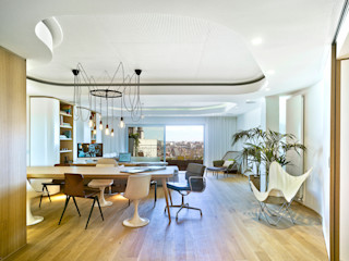 Manuel Ocaña Architecture and Thought Production Office Living room