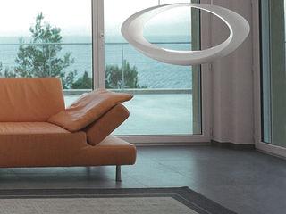 Highlight Aydınlatma Salas de estilo moderno