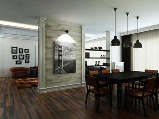 M.A. EVİ Niyazi Özçakar İç Mimarlık Eklektik Yemek Odası